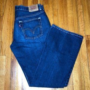 Levi's Nouveau 515 BootCut Jeans Size 12